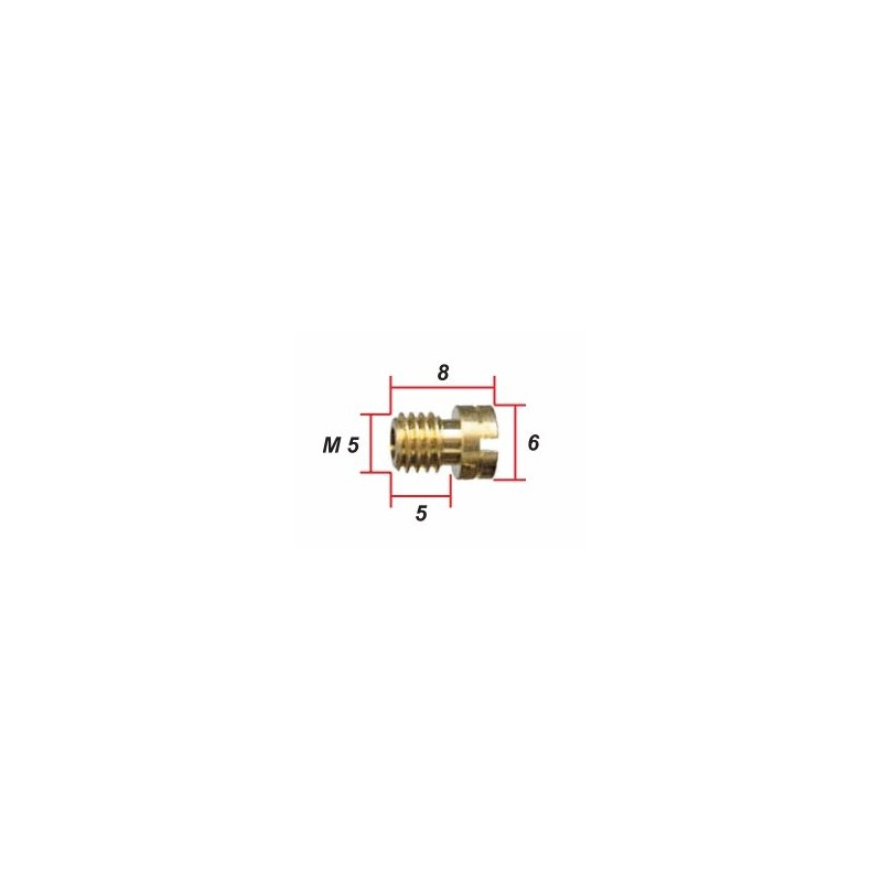 Keihin - ø 0.72 - Gicleur M5 pour Carburateur
