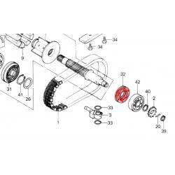 Joint - Roulement d'arbre primaire - 25x47x10mm