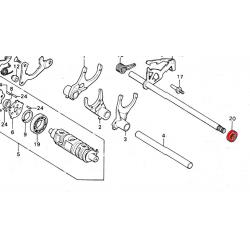Joint - Selecteur de vitesse - 12.5x25x8mm