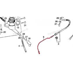 Frein - Pre-Durite de frein - CB360/400 Four