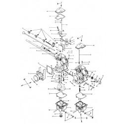 000 - Eclaté PDF - Carburateur Mikuni - RS34/RS36/RS38/RS40 -