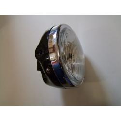 Phare - optique complet ø 175mm - noir