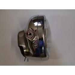Phare - optique complet  ø 175mm - Chromé