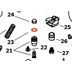 23 - Joint - torique de siege de pointeau - KV/10 - ø8.00 x1.40mm