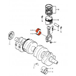 Z 750 B Twin - 1976-1978 - Kit reparation robinet
