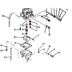Carburateur - Joint N° 3 - (x1) - 360-24512-00