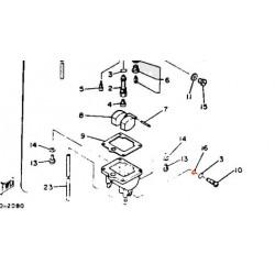 Carburateur - joint - vis de purge N 16  - 5H0-14397-00