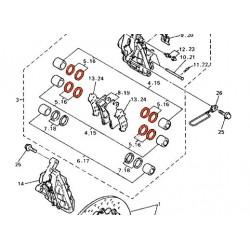 Frein - Etrier - Avant - Kit de reparation ø 27.00 - 4Piston - 3MA-25803-10