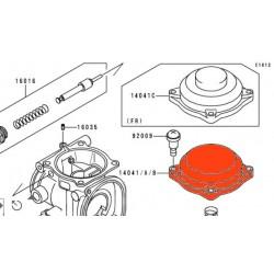 """Carburateur - couvercle de boisseau - version """"A"""" - 14041-1100"""