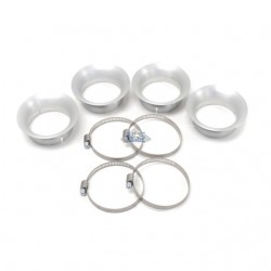 Cornet, filtre a air - Long 15mm - 4 pieces