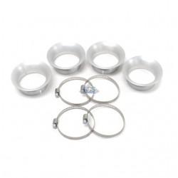 Cornet, filtre a air - Long 15mm - 4 pieces