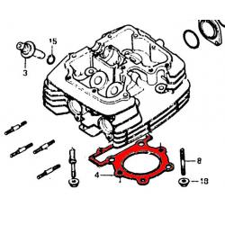 Moteur - Joint de culasse - FT500 / XL500 - (x1)