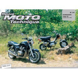 Revue Technique moto - RTM - N° 094/1 - Version PDF - ZR750 - Zephir - 1991-1999