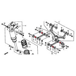 VF750S - Bague de bras d'amortisseur (x1)