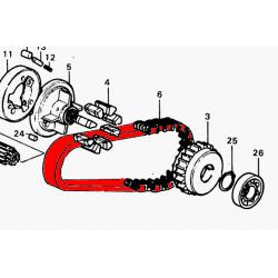 Moteur - Chaine primaire - CB500/CB550/CB650