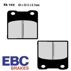 Frein - Etrier - Plaquette - EBC - FA103 - Standard