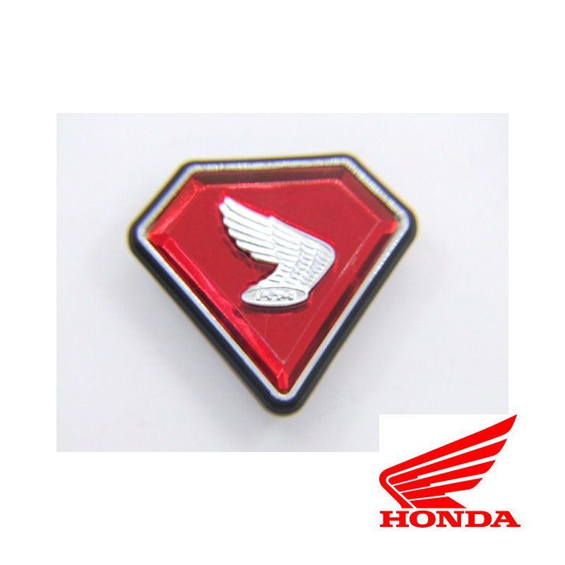 Cache Lateral - Embleme - Logo - Triangle/Diamant Rouge - Aile Droite - Honda CB Four
