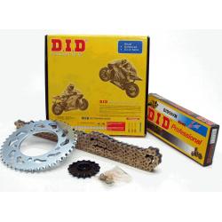 transmission - Kit chaine DID - 428/112-39-15 - Noir - Ouvert - CB125T