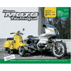 Revue Technique moto - RTM - N° 037 - Version PAPIER - BMW R/60-75-80-100 - Vespa PX125