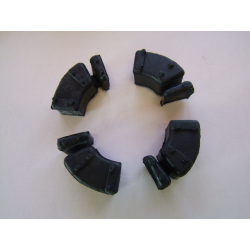 Couronne - Silent bloc - amortisseur de couple -CB250N - CB400N - CM400T