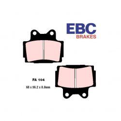 Frein - plaquette - Synthetic - EBC - FA104 HH