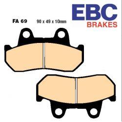 Frein - Plaquette EBC - Semi Synthetic - FA-069V