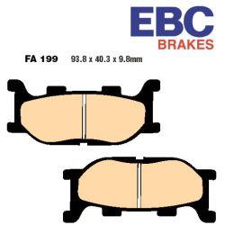 Frein - Etrier - Plaquette - EBC - Semi-synthetic - FA199V