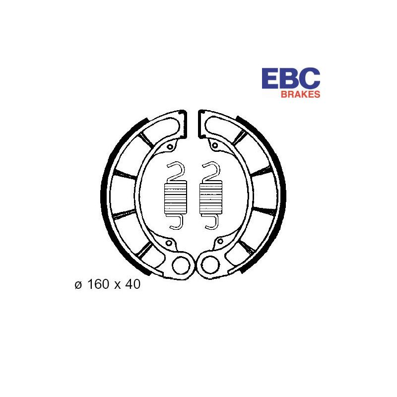 Frein - Machoire - 160x40 - EBC