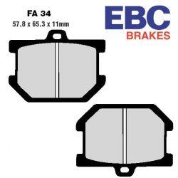 Frein - plaquette - EBC - Standard - FA034