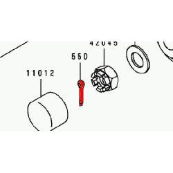 Roue - Goupille d'ecrou d'axe de roue AV - 3.0x25