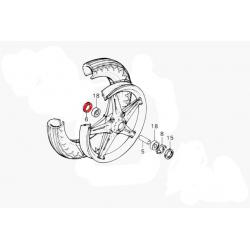 Ecrou de roue - Cache poussière de roulement
