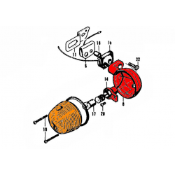 Clignotant - Droite ou Gauche - ( 1 pce ) - SL125