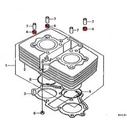 Joint de goujon de cylindre