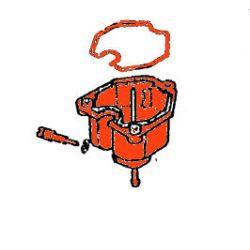 Carburateur - Cuve Droit - vis de purge a Droite