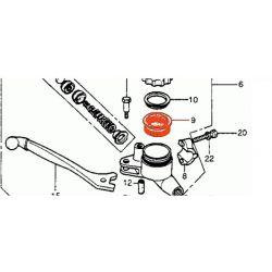 Frein - Maitre cylindre - Membrane de reservoir - Bocal rond - Avant/Arriere
