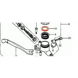 Frein - Maitre cylindre - rondelle appui de membrane - Bocal rond - Avant/Arriere