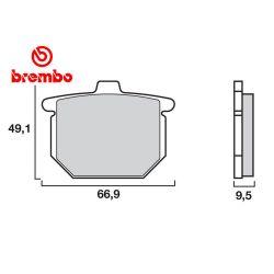 Frein - Plaquette - Brembo - Carbon-ceramic