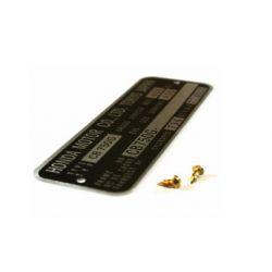 Decoration - Plaque de cadre - CB7750 F2 + rivet