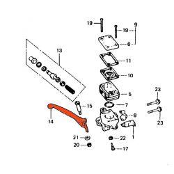 Levier - Frein - CB250/400/500/650/750/900 ...