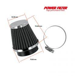 Filtre a air - ø52mm - PowerFilter - (x1)
