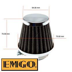Filtre a air - ø52mm - EMGO - Cornet - (x1)