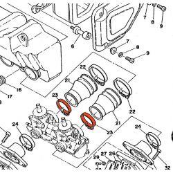 Manchon - Filtre a Air - Collier (x1) - 90460-43053