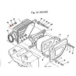 Filtre a air - silenbloc- (x1) - 90480-14102