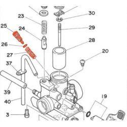 Carburateur - Vis de reglage - AIR - RD125 / RD200