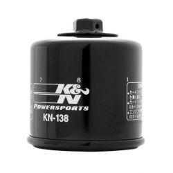 Filtre a huile - K&N - GSX/SV/DL...VX 650/750/ ..../1100/1500 ....
