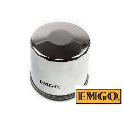 Filtre a huile - EMGO - EMG-138 - Chrome - GSX/SV/DL...VX 650/750/ ..../1100/1500 ....