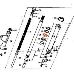 Fourche - Joint Spy - ø33x46x10.5 mm (2pcs)