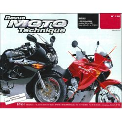 Revue Technique moto - RTM - N° 126-2 - Version PDF - GSX600F - GSX750F - 1998-2001