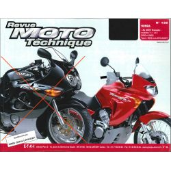 Revue Technique moto - RTM - N° 126-1 - Version PDF - XL650 Transalp - 2000-2002