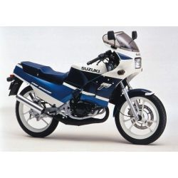 Suzuki RG125 - RTM - N° 071.2  - Version PDF - Revue Technique moto